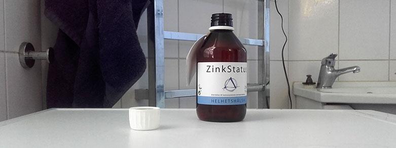 Testa ditt zinkvärde själv hemma